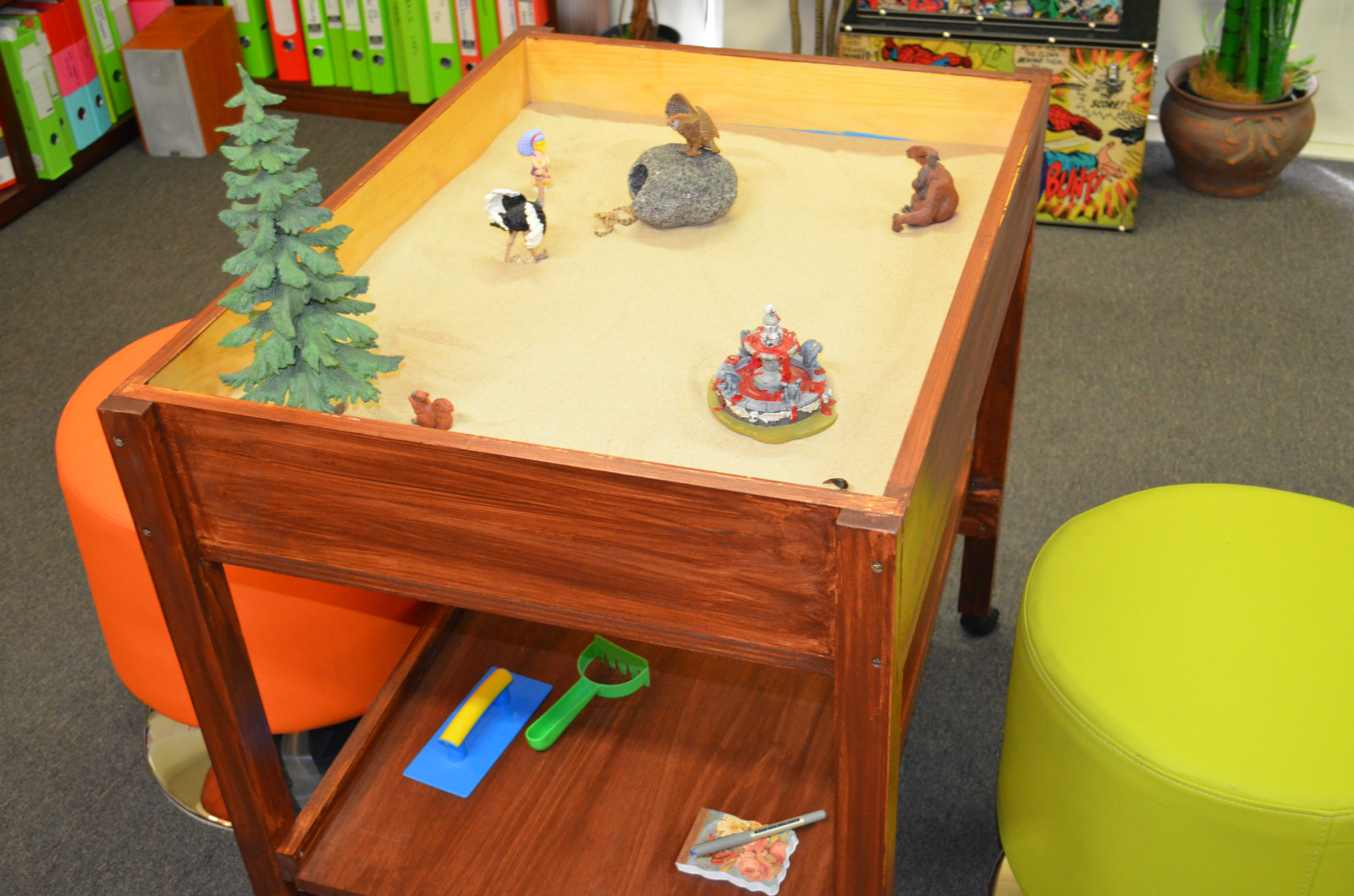 Sandplay Therapy Transitional Support